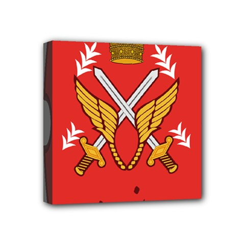 Seal Of The Imperial Iranian Army Aviation  Mini Canvas 4  X 4