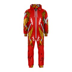 Seal Of The Imperial Iranian Army Aviation  Hooded Jumpsuit (kids)