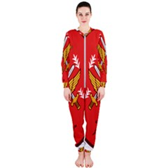 Seal Of The Imperial Iranian Army Aviation  Onepiece Jumpsuit (ladies)
