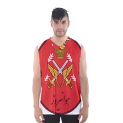 Seal Of The Imperial Iranian Army Aviation  Men s Basketball Tank Top