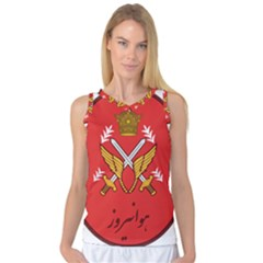 Seal Of The Imperial Iranian Army Aviation  Women s Basketball Tank Top