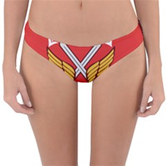 Seal Of The Imperial Iranian Army Aviation  Reversible Hipster Bikini Bottoms