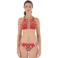 Seal Of The Imperial Iranian Army Aviation  Perfectly Cut Out Bikini Set