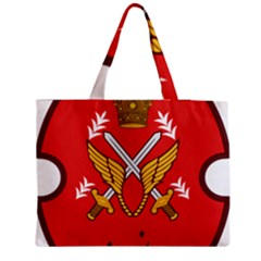 Seal Of The Imperial Iranian Army Aviation  Zipper Medium Tote Bag