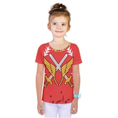 Seal Of The Imperial Iranian Army Aviation  Kids  One Piece Tee