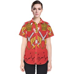 Seal Of The Imperial Iranian Army Aviation  Women s Short Sleeve Shirt