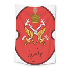 Seal Of The Imperial Iranian Army Aviation  Small Tapestry