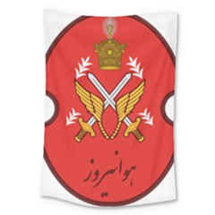 Seal Of The Imperial Iranian Army Aviation  Large Tapestry