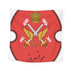 Seal Of The Imperial Iranian Army Aviation  Square Tapestry (small)