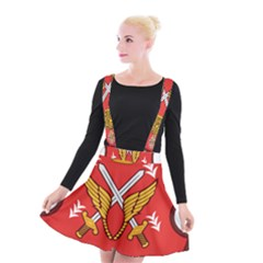 Seal Of The Imperial Iranian Army Aviation  Suspender Skater Skirt