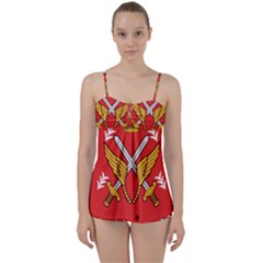 Seal Of The Imperial Iranian Army Aviation  Babydoll Tankini Set