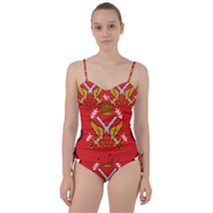 Seal Of The Imperial Iranian Army Aviation  Sweetheart Tankini Set