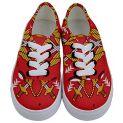 Seal Of The Imperial Iranian Army Aviation  Kids  Classic Low Top Sneakers