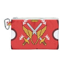 Seal Of The Imperial Iranian Army Aviation  Canvas Cosmetic Bag (medium)