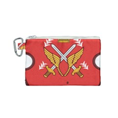 Seal Of The Imperial Iranian Army Aviation  Canvas Cosmetic Bag (small)