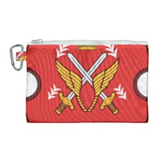 Seal Of The Imperial Iranian Army Aviation  Canvas Cosmetic Bag (large)