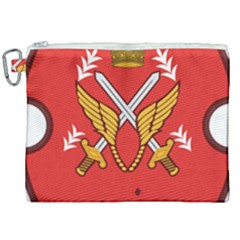 Seal Of The Imperial Iranian Army Aviation  Canvas Cosmetic Bag (xxl)