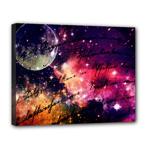 Letter From Outer Space Canvas 14  X 11