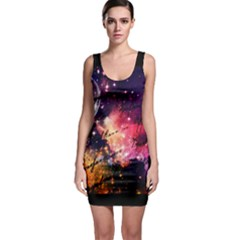 Letter From Outer Space Bodycon Dress