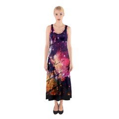 Letter From Outer Space Sleeveless Maxi Dress