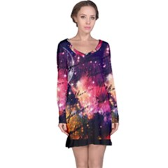 Letter From Outer Space Long Sleeve Nightdress