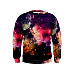 Letter From Outer Space Kids  Sweatshirt