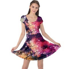Letter From Outer Space Cap Sleeve Dress