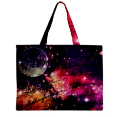 Letter From Outer Space Zipper Mini Tote Bag