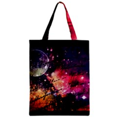 Letter From Outer Space Zipper Classic Tote Bag