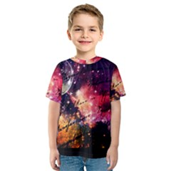 Letter From Outer Space Kids  Sport Mesh Tee