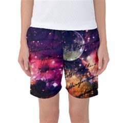 Letter From Outer Space Women s Basketball Shorts