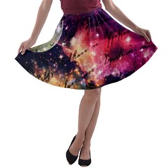 Letter From Outer Space A Line Skater Skirt
