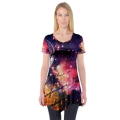 Letter From Outer Space Short Sleeve Tunic