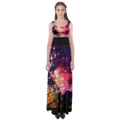 Letter From Outer Space Empire Waist Maxi Dress