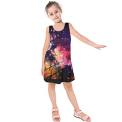 Letter From Outer Space Kids  Sleeveless Dress