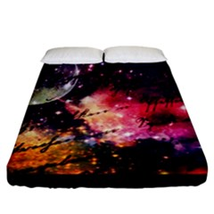 Letter From Outer Space Fitted Sheet (california King Size)