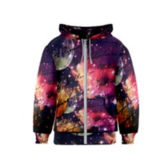 Letter From Outer Space Kids  Zipper Hoodie