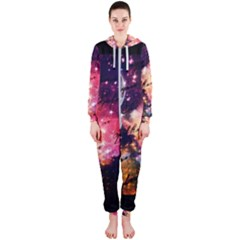 Letter From Outer Space Hooded Jumpsuit (ladies)