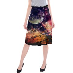 Letter From Outer Space Midi Beach Skirt