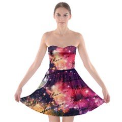 Letter From Outer Space Strapless Bra Top Dress