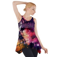 Letter From Outer Space Side Drop Tank Tunic
