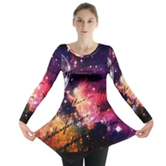 Letter From Outer Space Long Sleeve Tunic