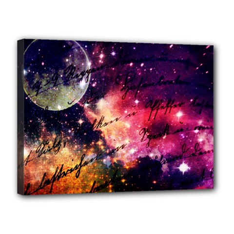 Letter From Outer Space Canvas 16  X 12