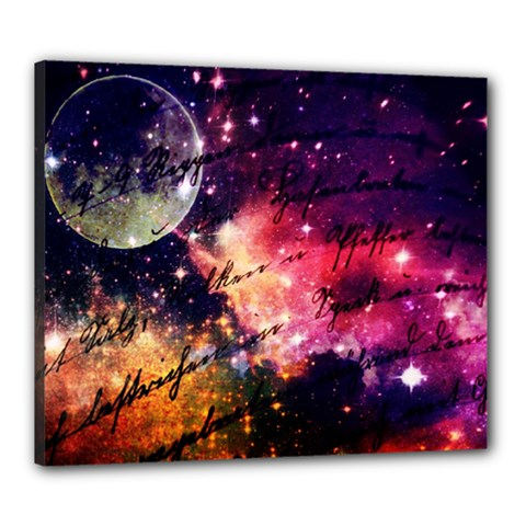 Letter From Outer Space Canvas 24  X 20