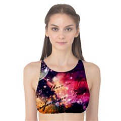 Letter From Outer Space Tank Bikini Top