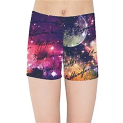Letter From Outer Space Kids Sports Shorts