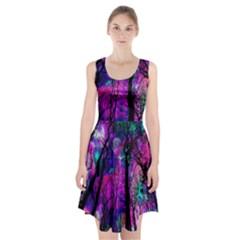 Magic Forest Racerback Midi Dress