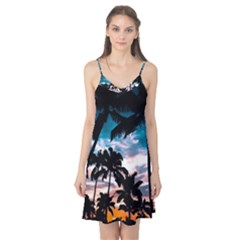 Palm Trees Summer Dream Camis Nightgown