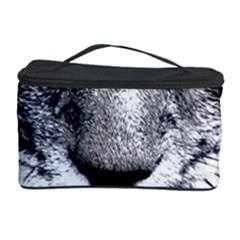 Purple Eyes Cat Cosmetic Storage Case