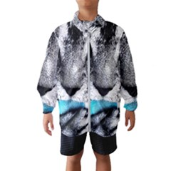 Purple Eyes Cat Wind Breaker (kids)
